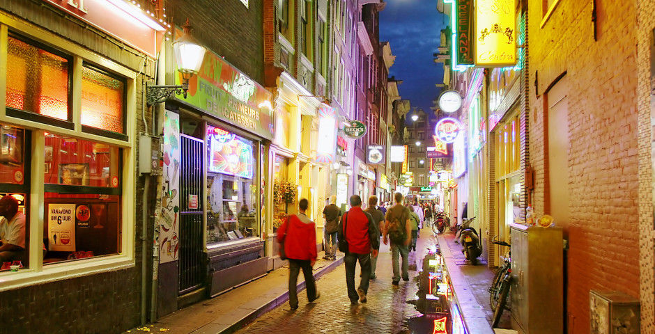 Vie nocturne en Amsterdam - Amsterdam