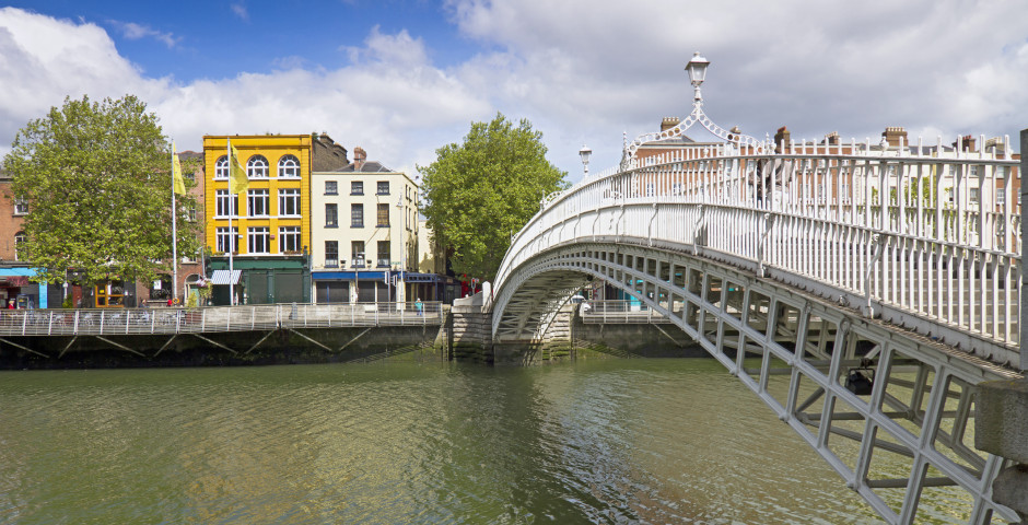 Half Penny Bridge - Dublin