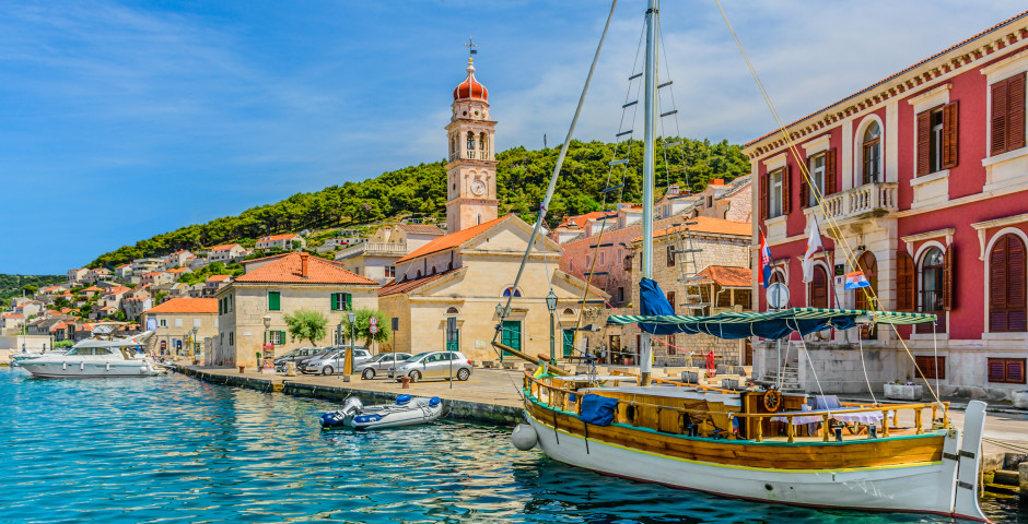 Insel Brac - Nord- und Mitteldalmatien
