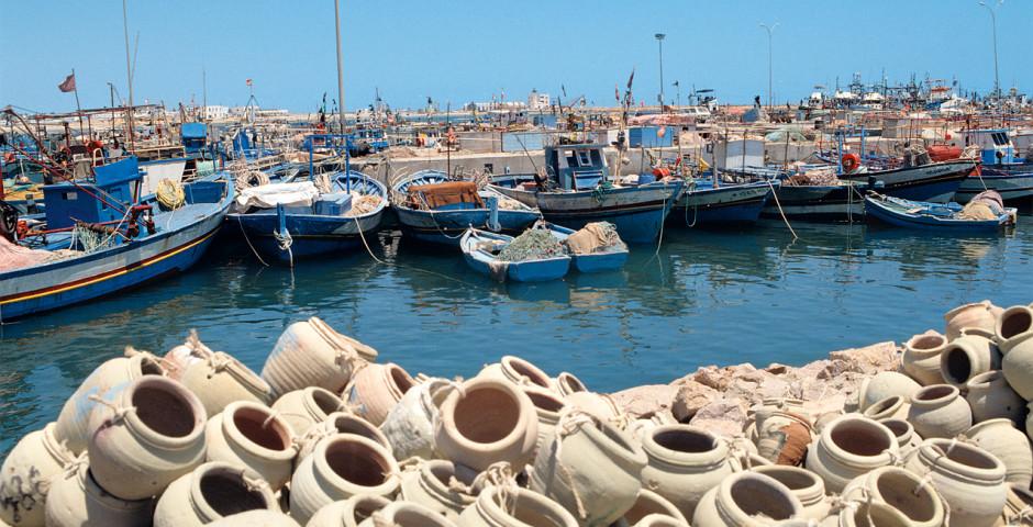 Hafen in Tunesien - Djerba / Südtunesien