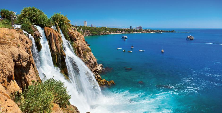 Der Wasserfall Düden - Antalya / Side / Belek