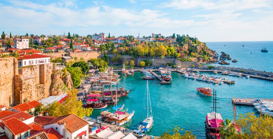 Blick auf die Altstadt Kaleici - Antalya / Side / Belek