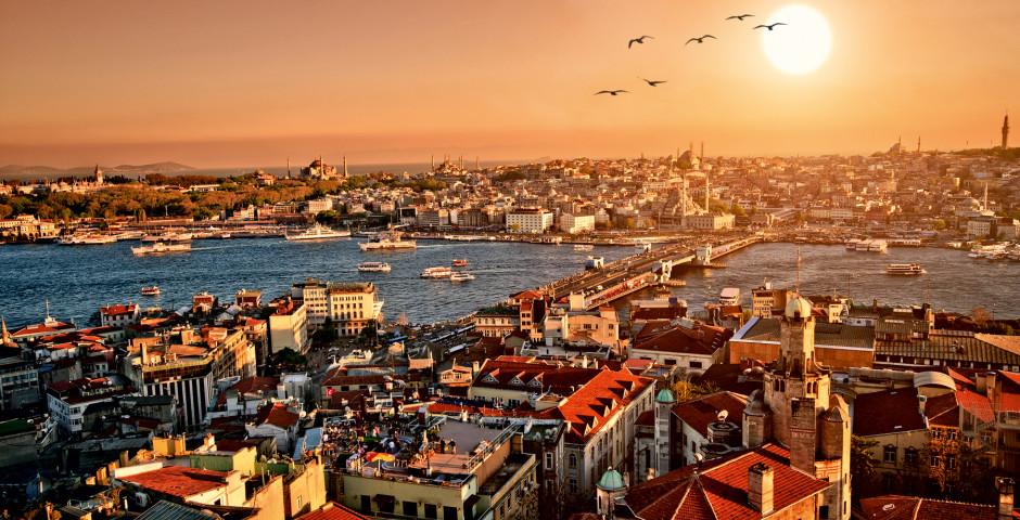 Galata-Brücke und Goldenes Horn - Istanbul