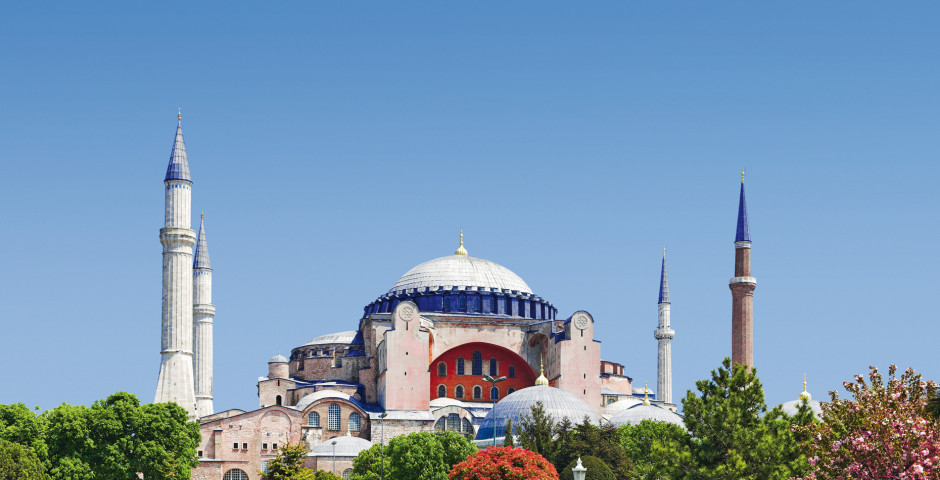 Istanbul majestätisch - Hagia Sophia - Istanbul
