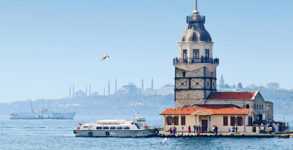 Istanbul, Bosporus, Leanderturm - Istanbul