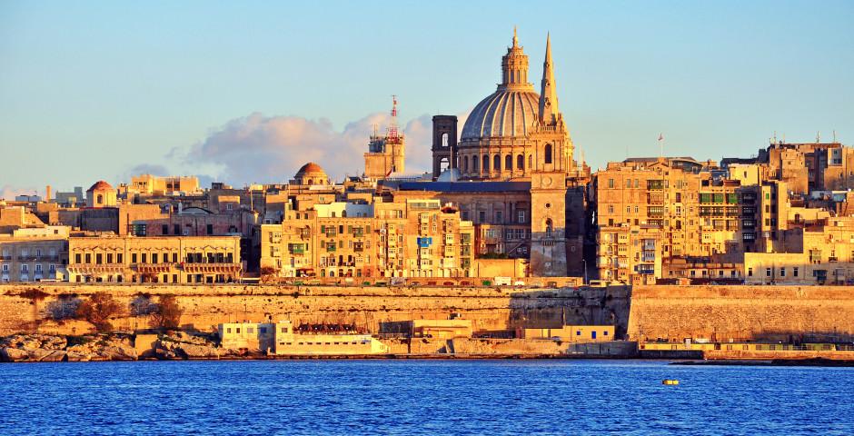 Vue sur La Valette - Malte