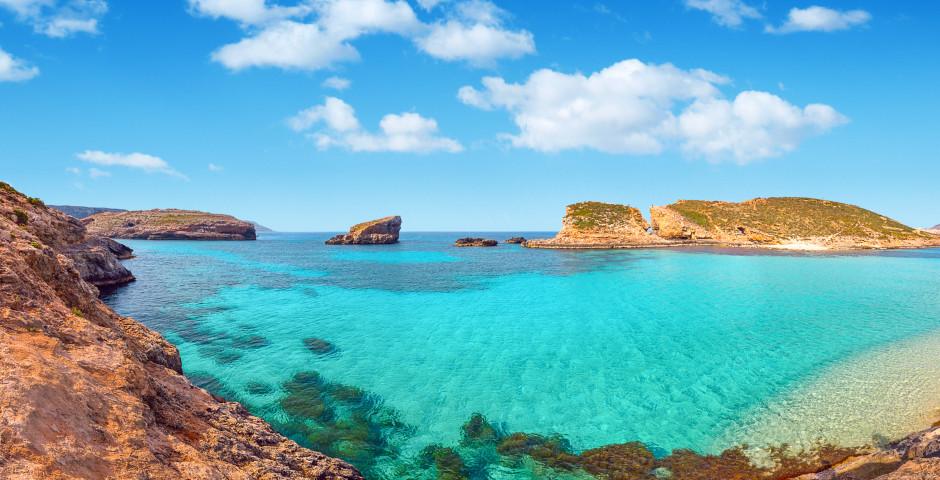 Lagune bleue, Comino - Malte