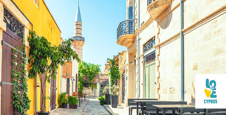 Blick auf die Grand Mosque in Limassol - Zypern
