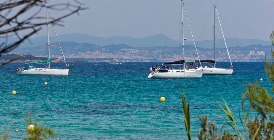 Voiliers - Presqu'île de Giens (Côte d'Azur - Midi de la France)