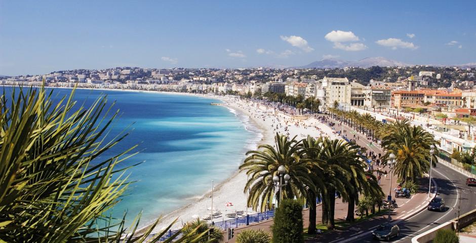 Nizza & Umgebung (Côte d'Azur - Südfrankreich)