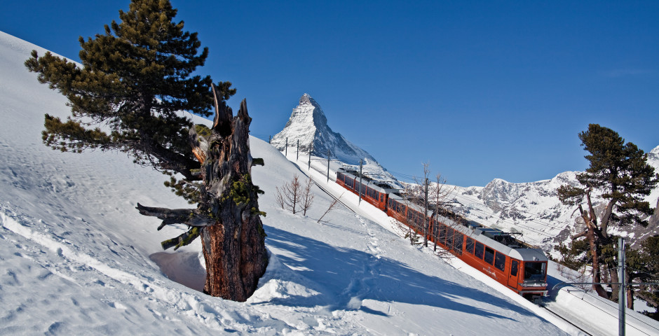 Train du Gornergrat Bahn, Zermatt