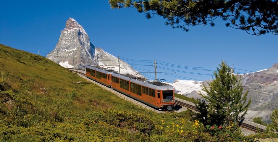 Train du Gornergrat Bahn, Zermatt - Haut-Valais
