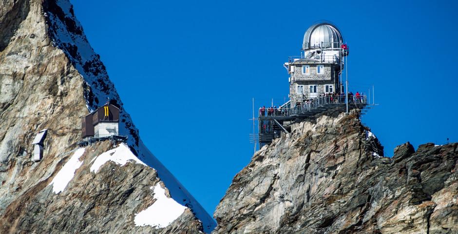 Observatoire du Sphinx - Région de la Jungfrau