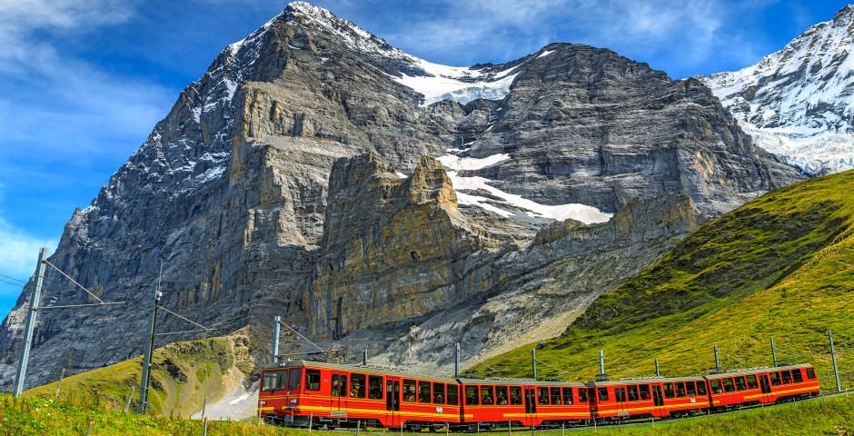 Chemin de fer de la Jungfrau - Région de la Jungfrau