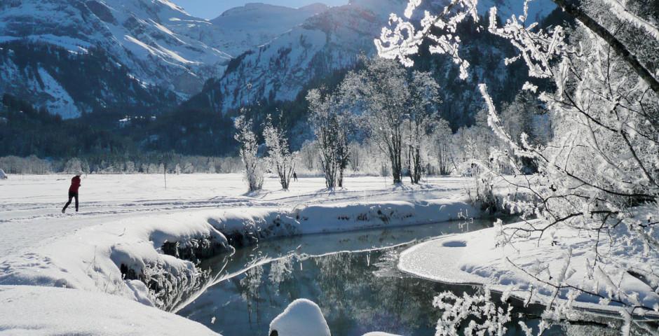 Winterlandschaft im Saanenland