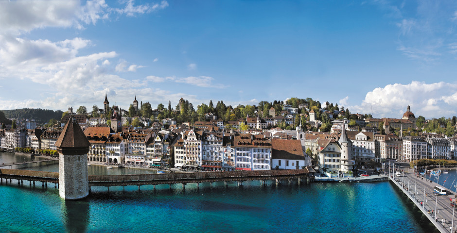 Lucerne, © Luzern Tourismus - Lac des Quatre-Cantons