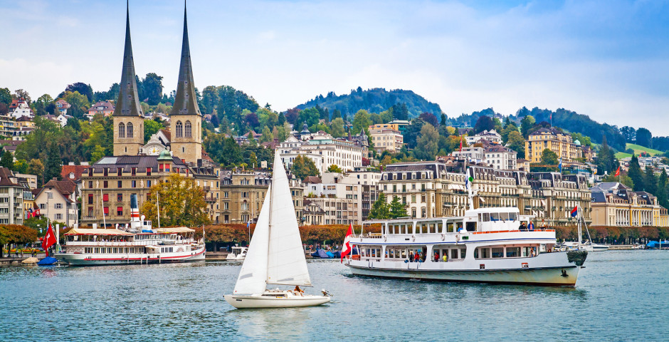 La Ville Lucerne - Lac des Quatre-Cantons