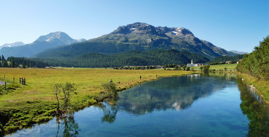 Fluss Inn - Oberengadin