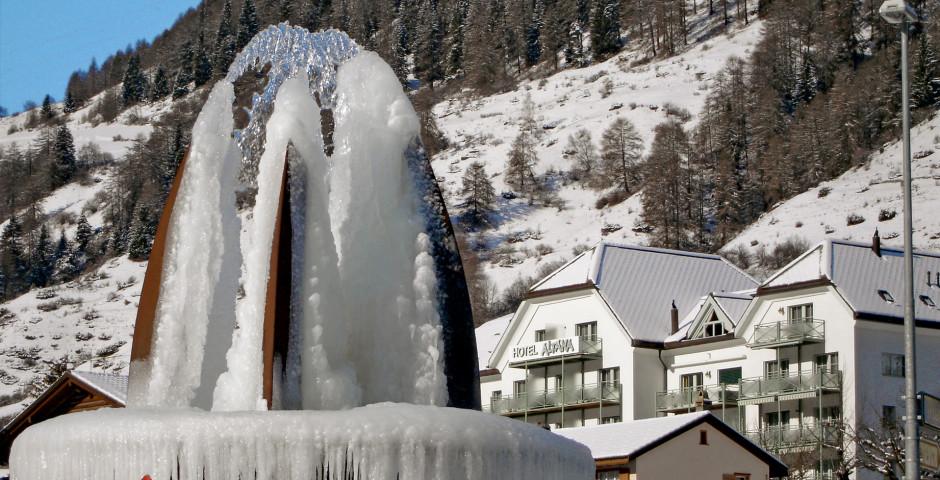 La Basse-Engadine en hiver - Basse-Engadine