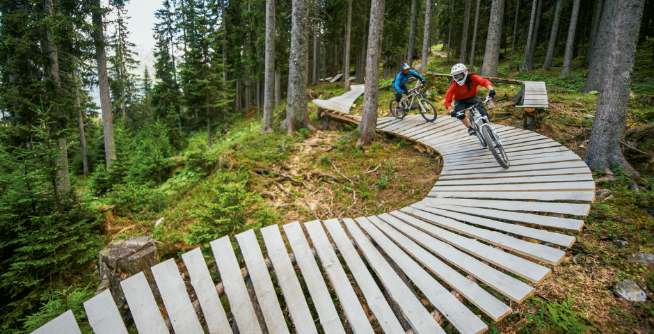 Freeride Downhill, Gotschna © Destination Davos-Klosters - Davos-Klosters