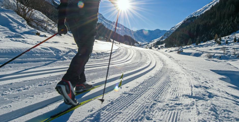 Langlaufen im Dischmatal © Destination Davos-Klosters