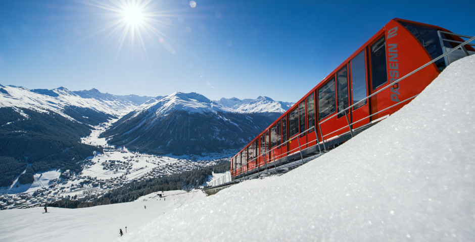 Parsennbahn © Destination Davos-Klosters - Davos-Klosters