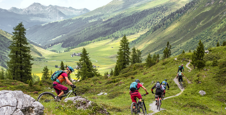Mountainbiketour in Lenzerheide-Valbella - Lenzerheide-Valbella