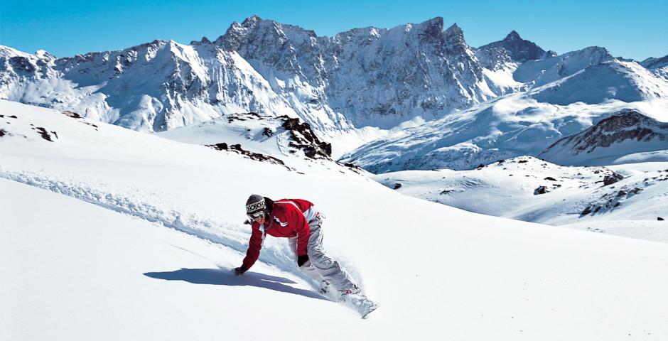 Snowboarden in Savognin - Savognin