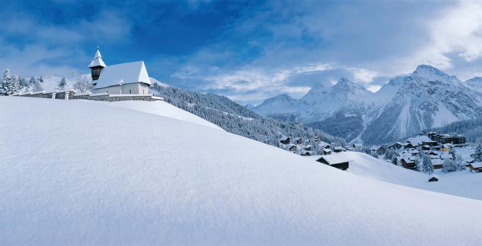 L'église de la colline - Arosa