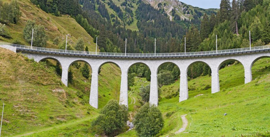 Val Bugnei Viadukt - Disentis Sedrun