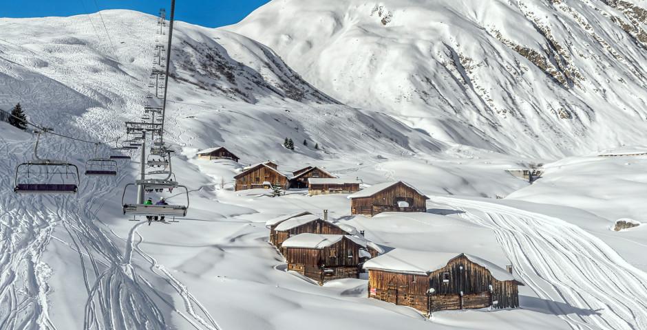 Domaine skiable Sedrun