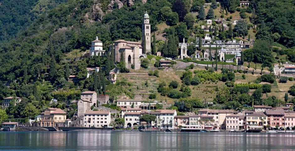 Morcote, Lago di Lugano - Lago di Lugano (Schweizer Seite)