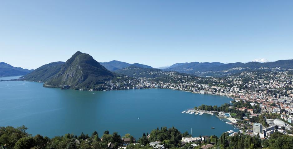 Ferien am Lago di Lugano - Lago di Lugano (Schweizer Seite)