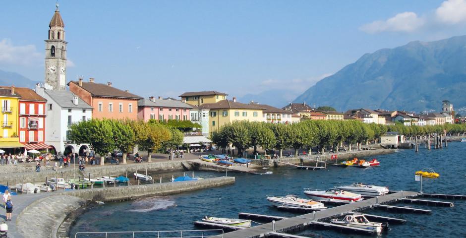 Lago Maggiore, Ascona - Lago Maggiore (Schweizer Seite)