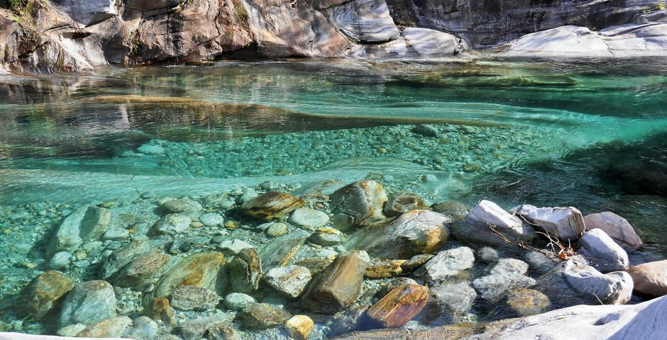 Verzasca, Lago Maggiore - Lago Maggiore (Schweizer Seite)