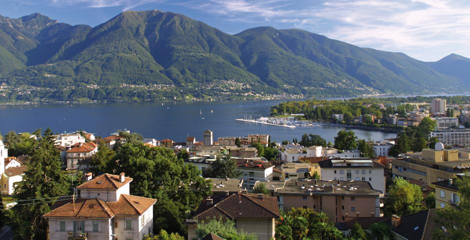 Lago Maggiore - Lago Maggiore (Schweizer Seite)