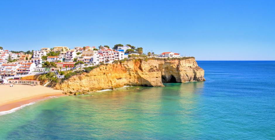 Blick auf Carvoeiro - Algarve / Faro