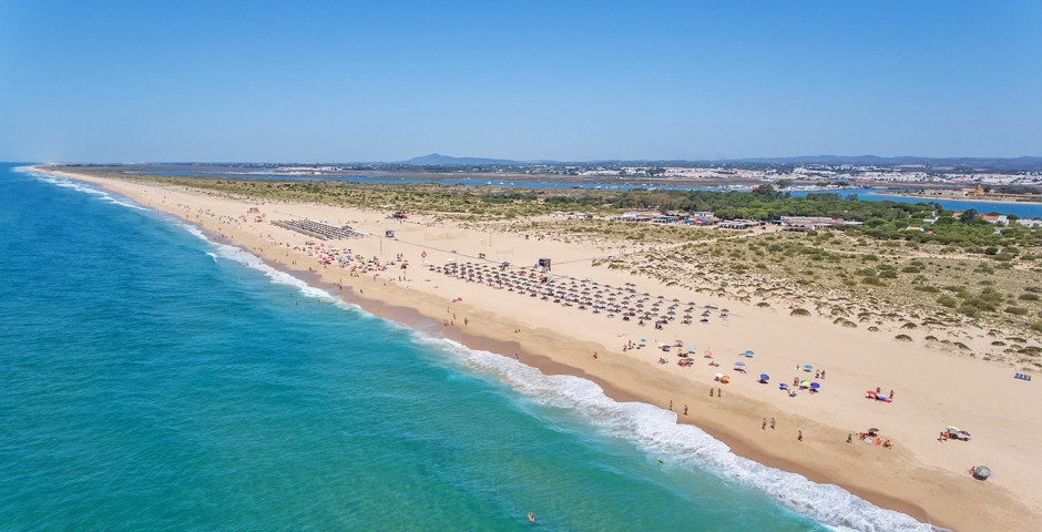 Strand bei Tavira - Algarve / Faro