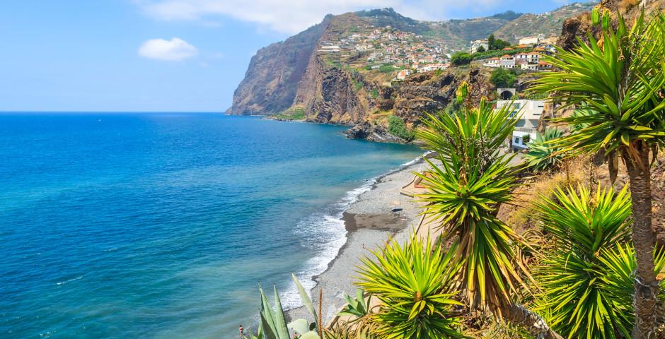 Strand von Camara de Lobos - Madeira