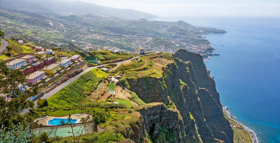 Küste bei Cabo Girao - Madeira