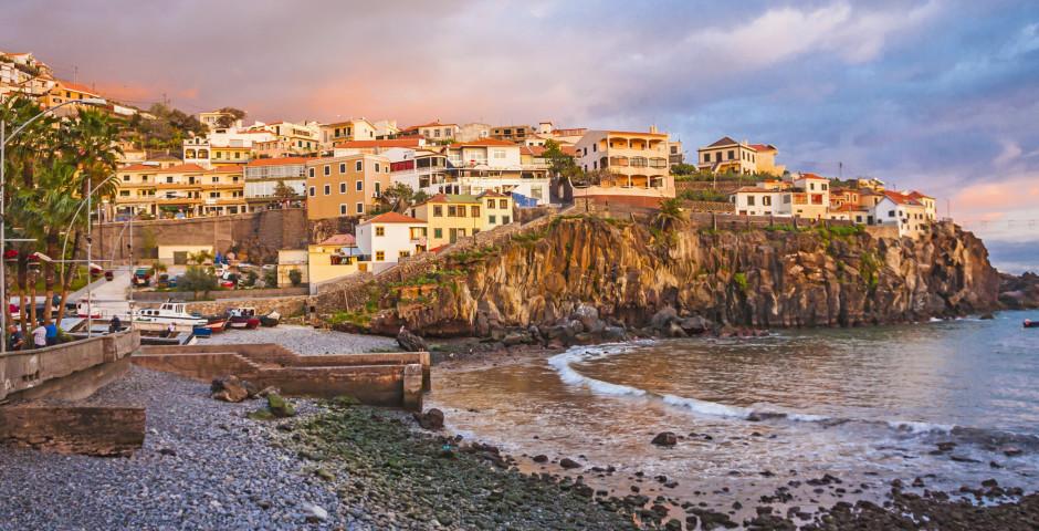 Abendstimmung in Camara de Lobos - Madeira