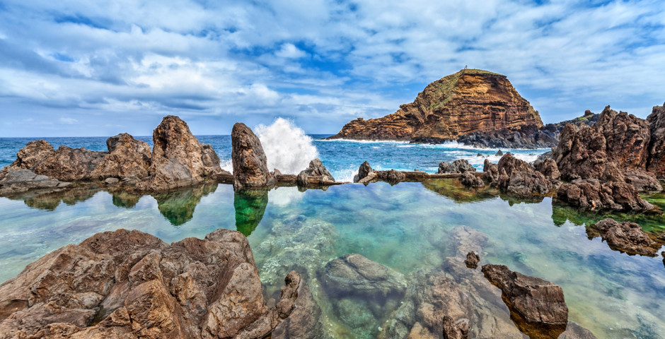 Lava-Pool in Porto Moniz - Madeira