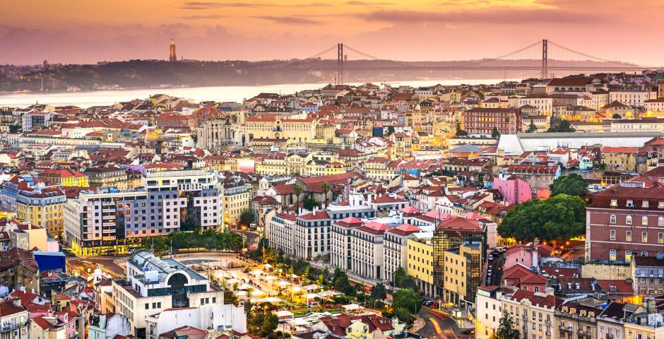 Coucher de soleil - Lisbonne