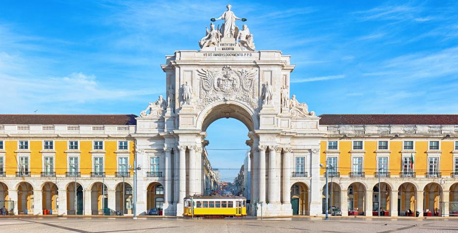 Praca do Comercio - Lisbonne
