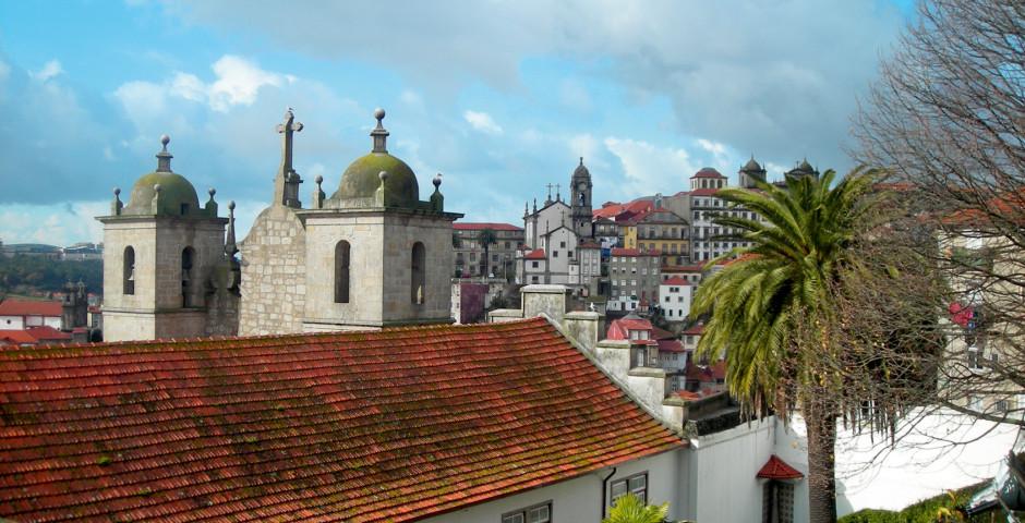 Blick auf die Altstadt - Porto
