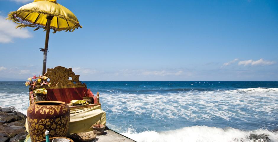 Opfer-Altar am Meer, Bali - Bali