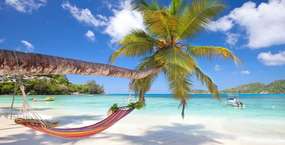 Plage de sable blanc - Seychelles