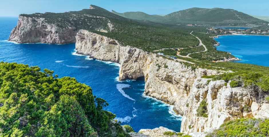 Capo Caccia - Nord de la Sardaigne (Olbia)
