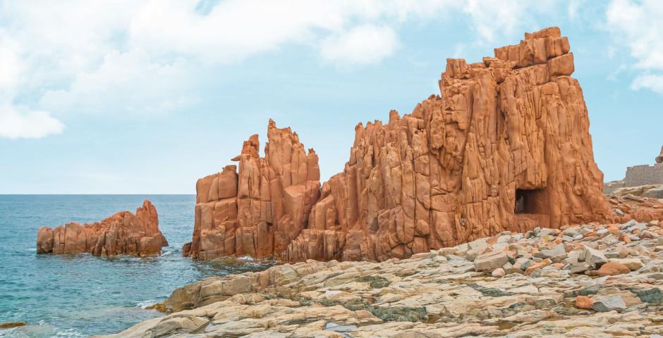 Isola Rossa - Nord de la Sardaigne (Olbia)