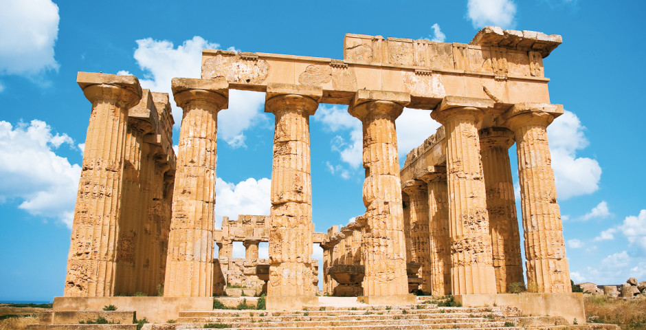 Antiker Tempel, Sizilien - Sizilien